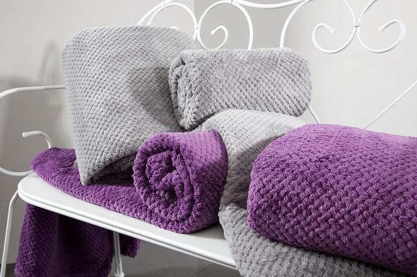 wohndecke kuscheldecke decke microfaser 150x200 170x210 220x240 tagesdecke weich ebay. Black Bedroom Furniture Sets. Home Design Ideas