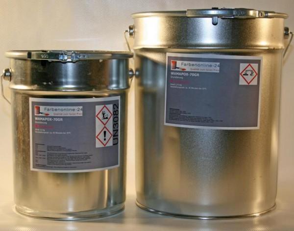 2k epoxid grundierung haftvermittler betonboden estrichboden wamapox 70gr 10kg ebay. Black Bedroom Furniture Sets. Home Design Ideas