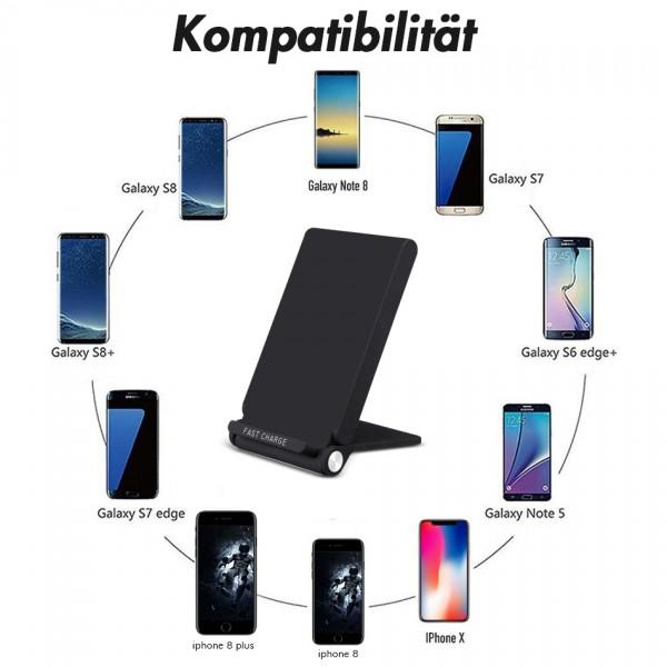 qi 3 spulen ladeger t wireless charger induktiv lade. Black Bedroom Furniture Sets. Home Design Ideas