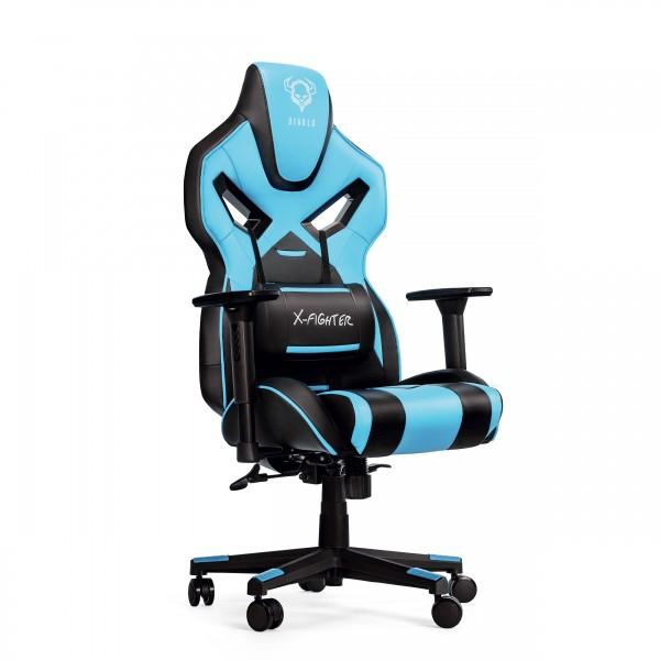 Diablo X Fighter Gaming Stuhl Bürostuhl Schreibtischstuhl Drehstuhl Sessel