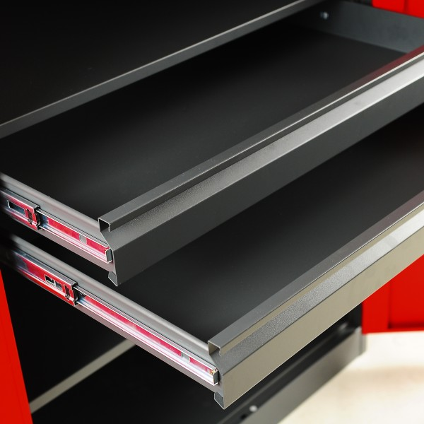 werkzeugschrank metallschrank stahlschrank universalschrank mit schubladen ebay. Black Bedroom Furniture Sets. Home Design Ideas