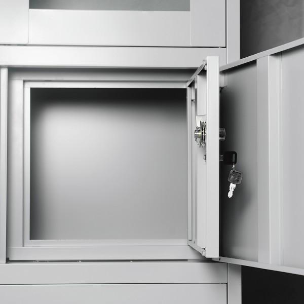 b roschrank aktenschrank dokumententresor metallschrank universalschrank schrank ebay. Black Bedroom Furniture Sets. Home Design Ideas
