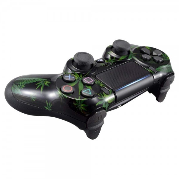 ps4 controller cover case h lle geh use front weed. Black Bedroom Furniture Sets. Home Design Ideas