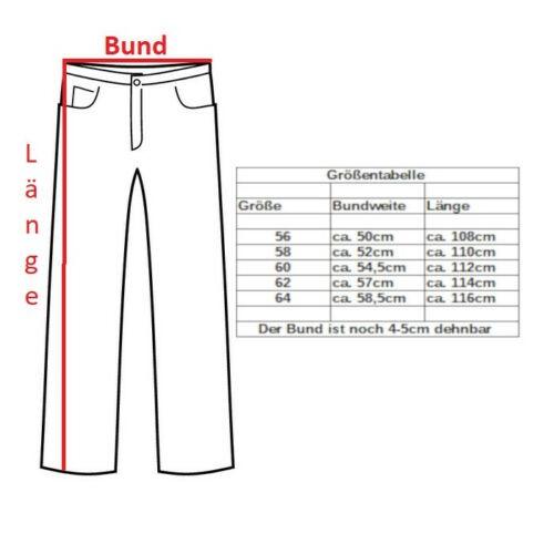 Details zu SXJ Herren 5 Pocket Jeans Hose Übergröße XXL Stretch schwarz Straight Cut 807