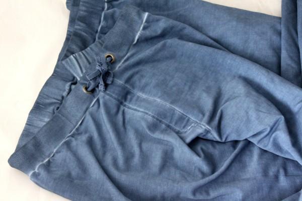 Damen Hose Schlupfhose braun 73/%Viskose stretch Gr 62 Kurzgröße 31 NEU R85