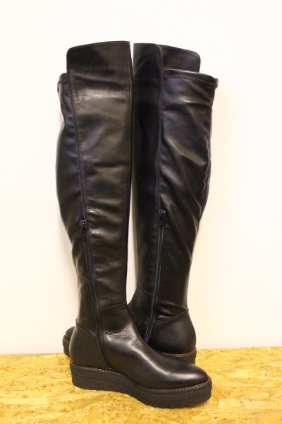 Show Leather 37 Title Platform About Donna Più Overknee S49 Wow Boots 40 Size Details Original Womens Black ucTFK13lJ