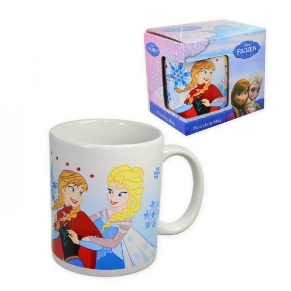 Frozen Eiskönigin Anna Tasse Frühstückstasse Becher Kakao Milch Tee Kindertasse
