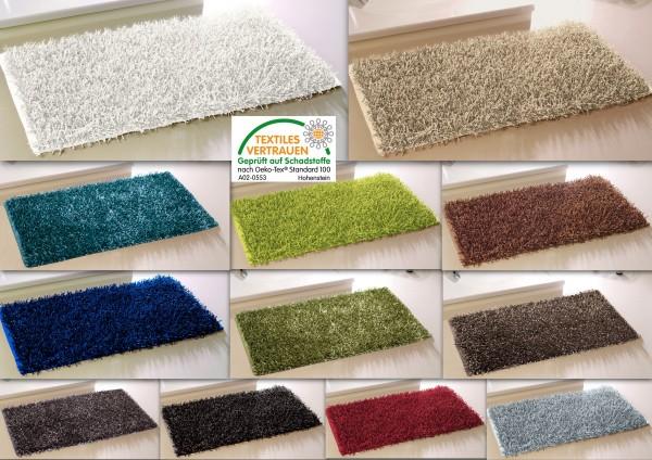 teppich metallic shaggy all r ume badteppich badematte duschvorleger badvorleger ebay. Black Bedroom Furniture Sets. Home Design Ideas