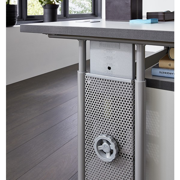 germania schreibtisch 0651 gw profi b ro tisch pc tisch vom h ndler ebay. Black Bedroom Furniture Sets. Home Design Ideas