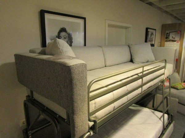 dienne salotti coupe schlafsofa doppelstock b h t 215 x 75 160 x 98 cm ebay. Black Bedroom Furniture Sets. Home Design Ideas