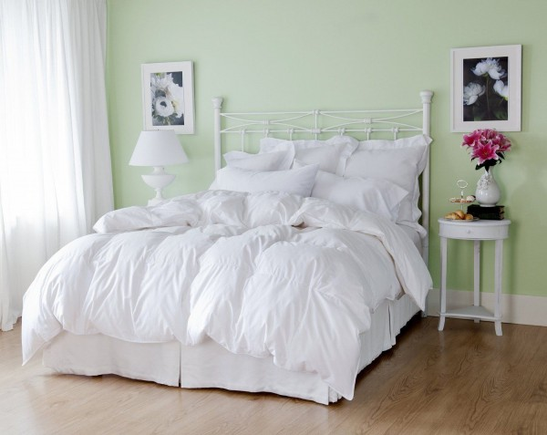 daunen steppbett winterdecke daunenbett bettdecke 100 natur 200x200 1800 gr ebay. Black Bedroom Furniture Sets. Home Design Ideas
