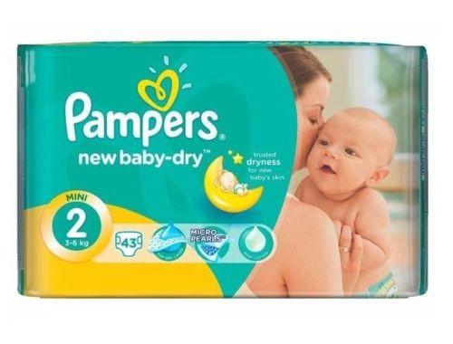 pampers new baby windeln gr 2 3 6 kg bis zu 688 st ck. Black Bedroom Furniture Sets. Home Design Ideas