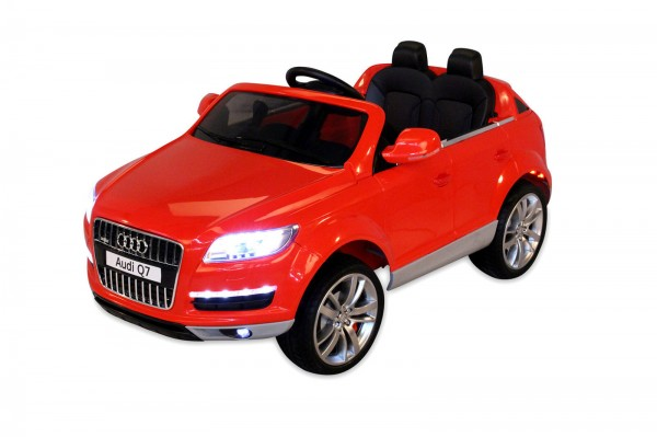 audi q7 suv elektroauto kinderauto elektrofahrzeug kinder. Black Bedroom Furniture Sets. Home Design Ideas