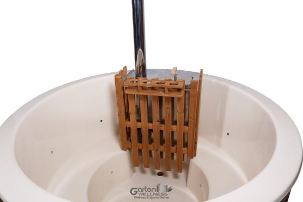 aktion hot tub badezuber badetonne badebottich badefass gfk whirlpool ebay. Black Bedroom Furniture Sets. Home Design Ideas