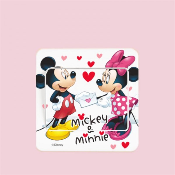 lichtschalter wandsticker aufkleber wandtattoo kinder cartoon micky maus auswahl ebay. Black Bedroom Furniture Sets. Home Design Ideas