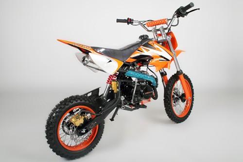dirtbike 125ccm crossbike enduro motorrad mini cross pitbike motocross pit dirt ebay. Black Bedroom Furniture Sets. Home Design Ideas
