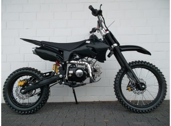 dirtbike pitbike 125ccm crossbike kinder cross motocross enduro 4 takt motor ebay. Black Bedroom Furniture Sets. Home Design Ideas
