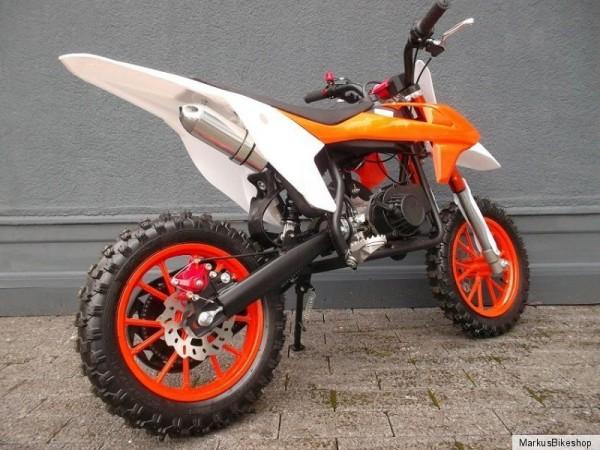 cross poketbike mini kinder motorrad enduro 2 takter 49. Black Bedroom Furniture Sets. Home Design Ideas