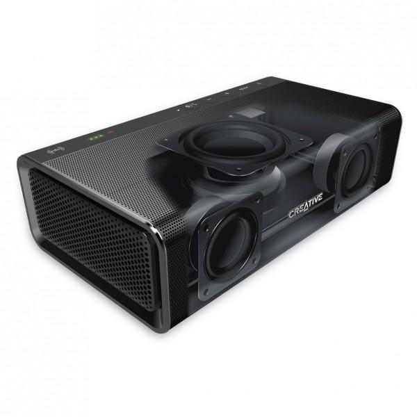 creative sound blaster roar pro tragbarer bluetooth. Black Bedroom Furniture Sets. Home Design Ideas