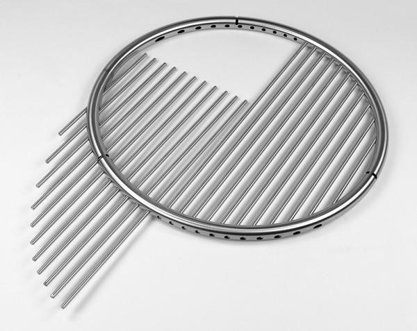 schwenkgrill edelstahl grillgalgen set 50 cm grillrost bodenrohr dreibein ebay. Black Bedroom Furniture Sets. Home Design Ideas