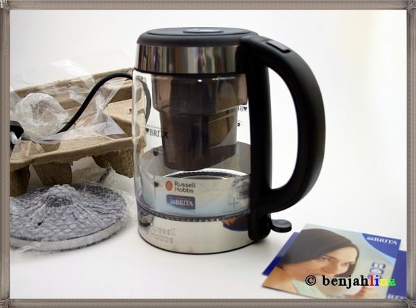 russell hobbs wasserkocher glas brita filter 3000 w blaue beleuchtung 20760 ebay. Black Bedroom Furniture Sets. Home Design Ideas