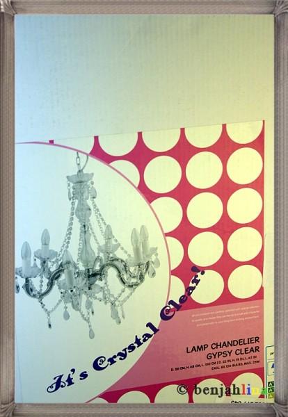 silly 6 arm gypsy crystal kronleuchter chandelier. Black Bedroom Furniture Sets. Home Design Ideas