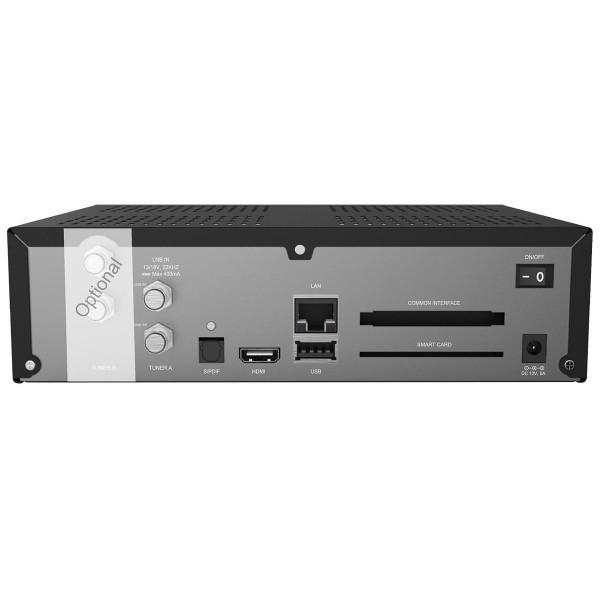 Axas E4HD 4K Ultra HD E2 Linux 1xDVB-S2X Gigabit LAN H.265 2160p Receiver