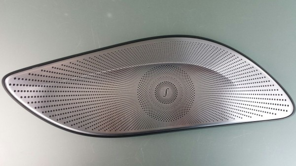 Original Mercedes W222 S-Klasse Abdeckgitter Blende Lautsprecher Links Burmester