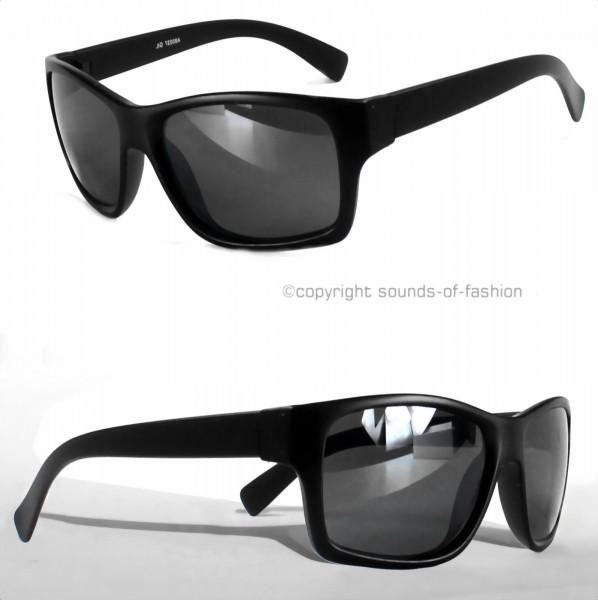 wayfarer sonnenbrille schwarz matt schwarz verspiegelt. Black Bedroom Furniture Sets. Home Design Ideas