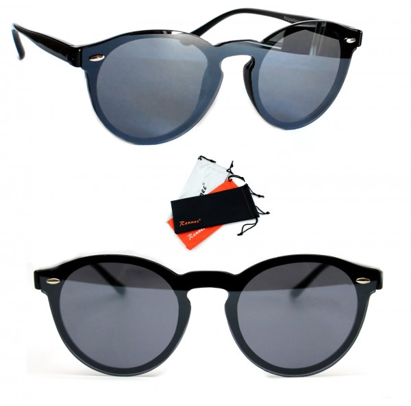 Details zu Damen Herren Panto Sonnenbrille Nickelbrille Lennon Oval Eckig Orange Rennec PTO