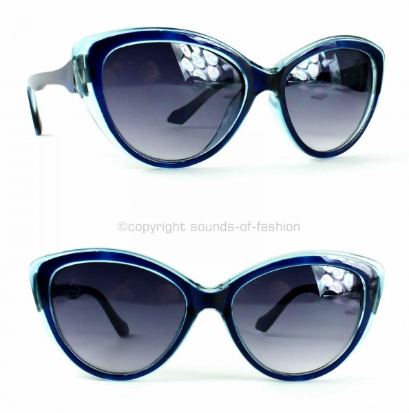 damen retro sonnenbrille cat eye 50er katzenaugen schwarz rot blau lila 6060 ebay. Black Bedroom Furniture Sets. Home Design Ideas