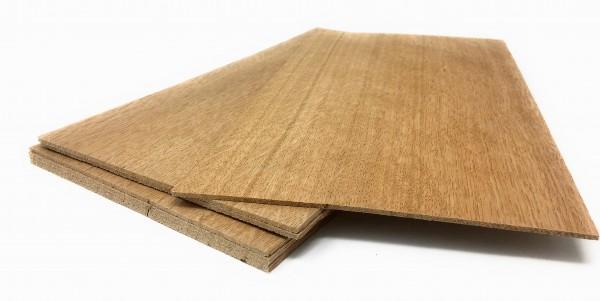 Starkfurnier S/ägefurnier Holz Ahorn Maple Eiche L/ärche Fichte Nussbaum Modellbau Eiche 2,4mm
