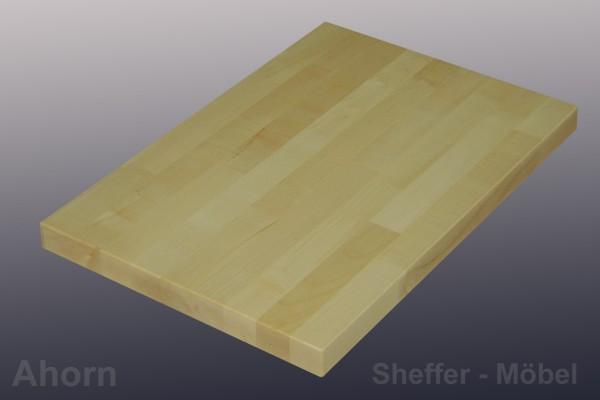 tischplatte 40mm ahorn massivholzplatte 60 250cml nge massivholz tischplatten ebay. Black Bedroom Furniture Sets. Home Design Ideas