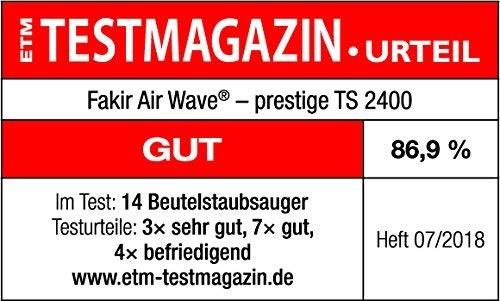 Fakir Air Wave® Prestige TS 2400 Bodenstaubsauger Staubsauger TS2400 ROT OVP