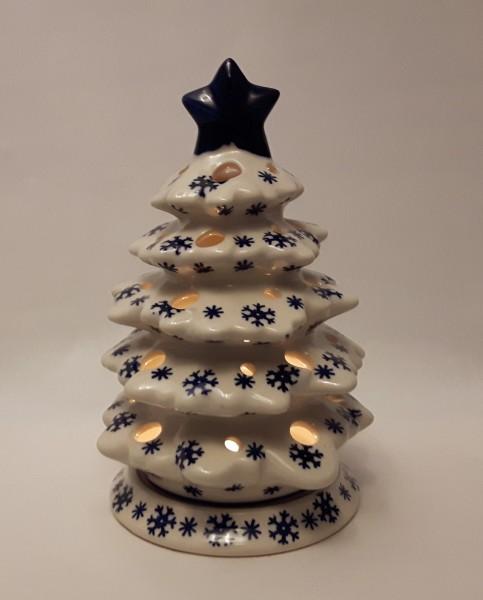 bunzlauer keramik teelicht tannenbaum deko weihnachten. Black Bedroom Furniture Sets. Home Design Ideas
