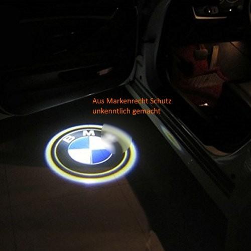 t rlicht alle bmw laser einstiegsbeleuchtung led logo projektor 3er 5er 1er 7er ebay. Black Bedroom Furniture Sets. Home Design Ideas