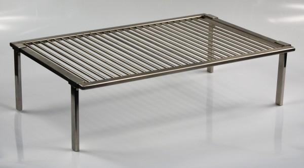 edelstahl grillrost nach ma 4 abnehmbare f e bein gitter grill anfertigung ebay. Black Bedroom Furniture Sets. Home Design Ideas