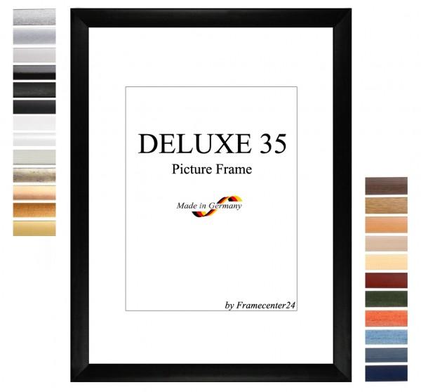 DELUXE35 Bilderrahmen 61x36 cm oder 36x61 cm Foto//Galerie//Posterrahmen