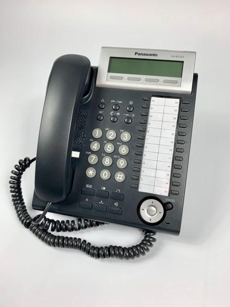 Panasonic KX-NT346 IP Systemtelefon schwarz inkl MwSt.