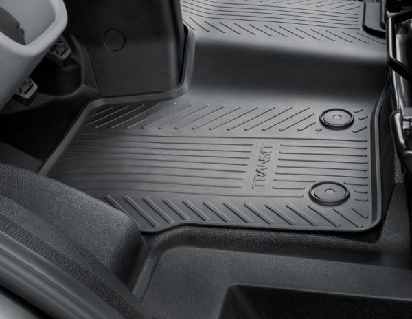 original ford transit custom gummimatten gummifu matten. Black Bedroom Furniture Sets. Home Design Ideas