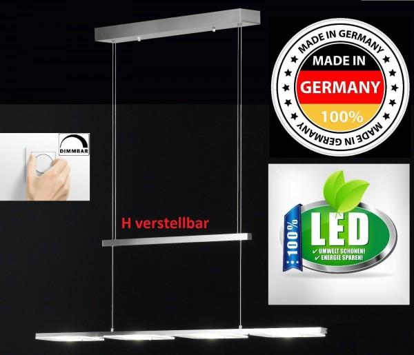Honsel 21912 Deckenlampe LED Deckenleuchte STAR stufenlos dimmbar nickel matt