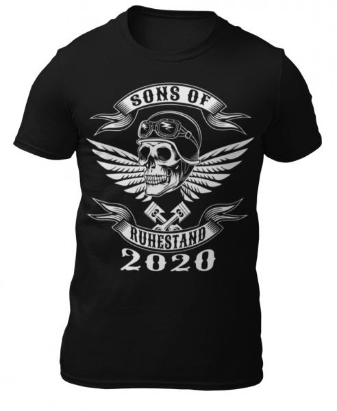 T-Shirt RENTNER 2020 Ruhestand Spruch zur Rente Pension