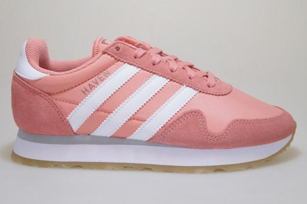 Detalles de Adidas Haven W BY9574 Rosa Zapatillas Deportivas Mujer