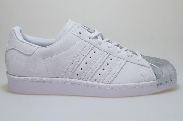 adidas Superstar 80s Metal Toe Schuhe Grau CP9945