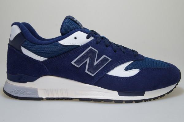Détails sur New Balance ML 840 Ag Bleu Daim Baskets Chaussures Homme 633581 60 12