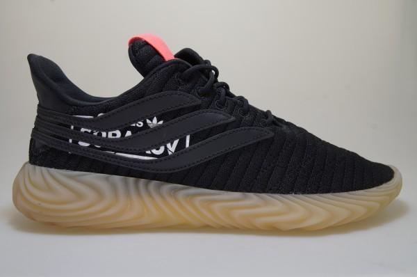 Detalles de Adidas Sobakov Alphatype Negro BB7040 Zapatillas Deportivas Originals Hombre