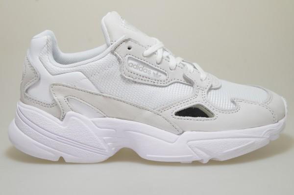 Details zu Adidas Falcon W weiß B28128 Sneaker Schuhe Frauen