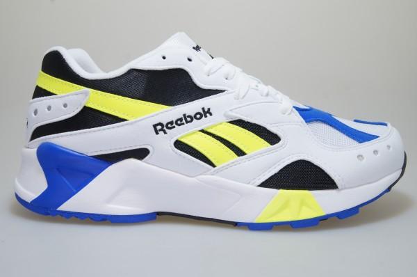 Reebok Aztrek CN7840 Mens White Mesh Lace Up Athletic Cross Training Shoes 11.5
