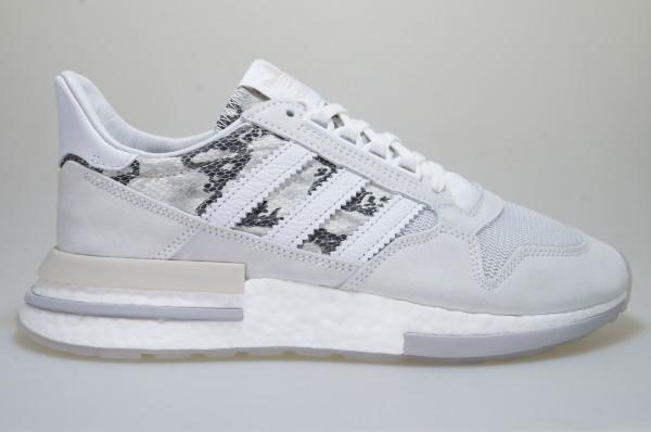 Dettagli su Adidas Zx 500 RM BD7873 Bianco Scarpe da Ginnastica Originals Uomo Scarpe