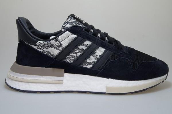 Détails sur Adidas Zx 500 RM BD7924 Noir Baskets Originals Chaussures Homme